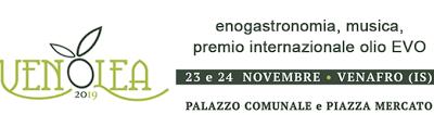 EXUA n.127 sale a Palazzo al VENOLEA 2019 di Venafro (IS) il 23 e 24 Novembre tra le eccellenze del territorio a rappresentare una delle espressioni migliori della Peranzana